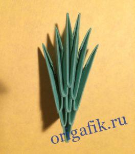 Модуль оригами - пошаговая инструкция, схема, фото
