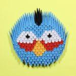 Злые птички Angry birds оригами: Джей, Джек, Джим