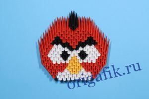 Оригами Angry birds