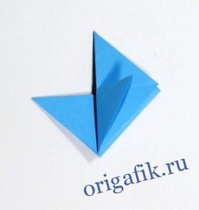 Антистресс оригами: пружинка радуга